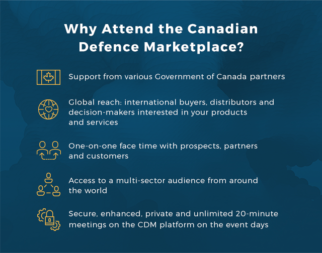 Why you should attend Canadian Defence Marketplace
